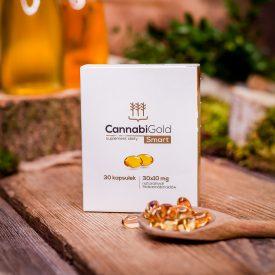 Kapsułki CBD CannabiGold Smart 30 kapsułek