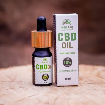 Olej konopny Natural Plus 10% (1000 mg) Full Spectrum – 10 ml