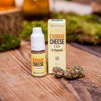 Liquid konopny do waporyzacji Harmony Exodus Cheese CBD 30 mg (3%), 10 ml