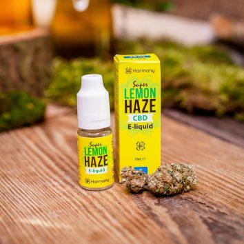 Liquid konopny do waporyzacji Harmony Super Lemon Haze CBD 30 mg (3%), 10 ml