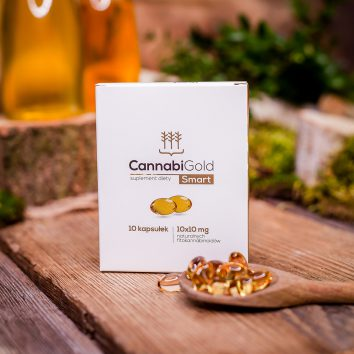Smart kapsułki CBD 10 sztuk × 10 mg
