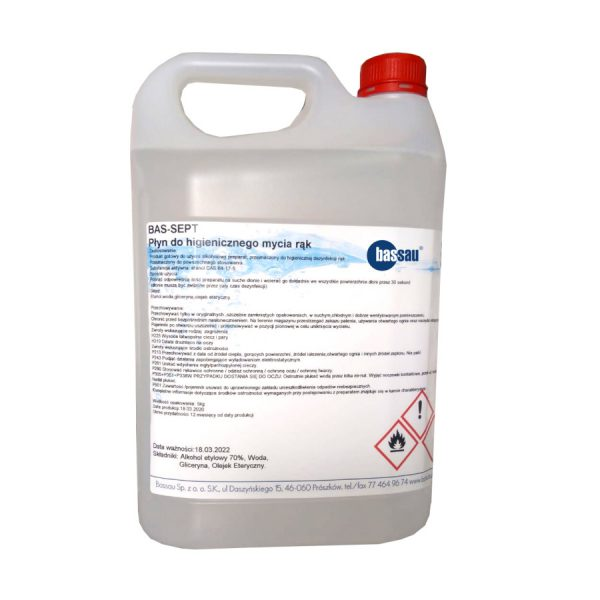 Płyn dezynfekcyjny BAS-SEPT